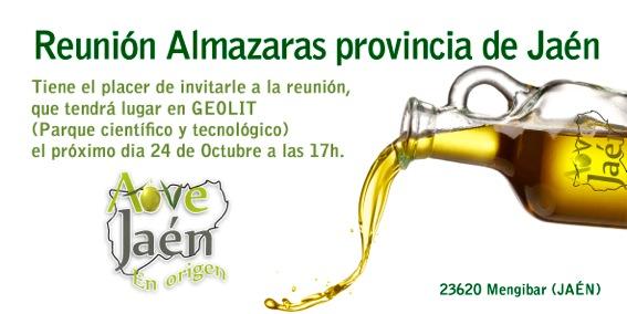 reunión almazaras de la provincia de Jaén