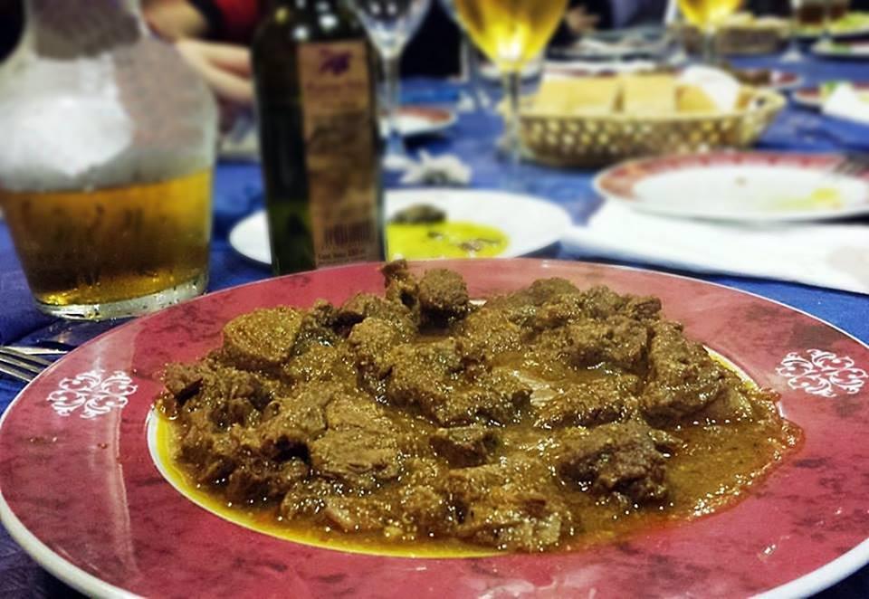 Carne de monte en salsa